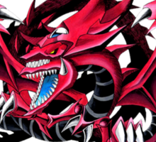 slifer the sky dragon Sticker