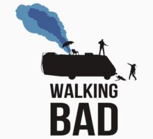 Walking Bad T Shirt by Fangpunk