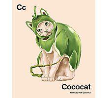 Cc - Cococat // Half Cat, Half Coconut Photographic Print