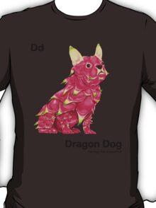 Dd - Dragon Dog // Half Dog, Half Dragon Fruit T-Shirt