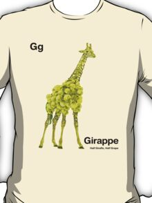 Gg - Girappe // Half Giraffe, Half Grape T-Shirt