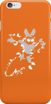 Cut Man Splattery Shirt/iPhone Case by thedailyrobot