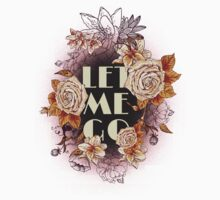 Let me go | Typographic work by Giovanni Palese