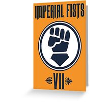 Imperial Fists - Warhammer Greeting Card