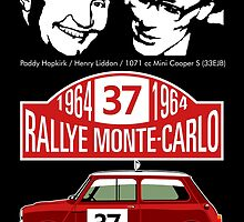 Mini Cooper Rallye Monte Carlo 1964 by car2oonz
