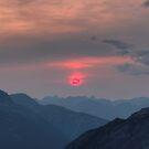 Pink Sun by JamesA1