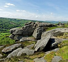 Froggatt Edge Looking North by Rod Johnson