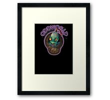 Abes Oddysee Framed Print