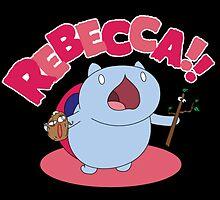 Rebecca! by nikoman844