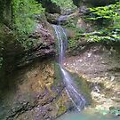 Waterfall Phonetography by Sean Paulson