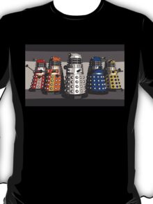 5 Shades of Dalek T-Shirt