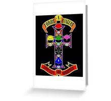 Zords N Rangers Greeting Card