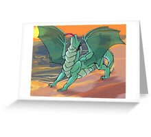 Sunset Supper Greeting Card