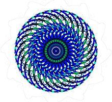 Blue Swirly by TwistedSilver