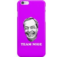 Team Nige iPhone Case/Skin