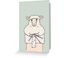 Purl Greeting Card