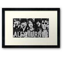 Alex Turner evolution Framed Print