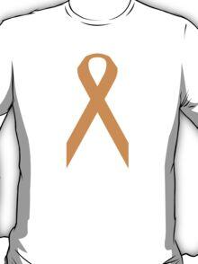 Kidney Cancer Awareness ribbon T-Shirt