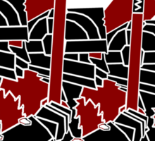 Dwarven Constructivism! Sticker