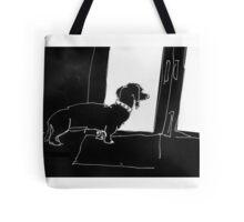 Watchful Boris Tote Bag