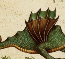 Vintage Dragon Sticker