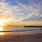 Winter Sunset - Woodman Point, Western Australia by Leanne Allen