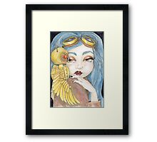 Secrets of the Clockwork Owl Framed Print