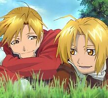 The Elric brothers by konoha