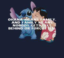Lilo & Stitch Ohana  by samjones24