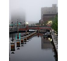 Early Morning Fog Photographic Print