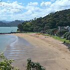 Paihia Beach,  Bay of Islands,  New Zealand...............! by Roy  Massicks