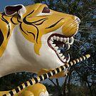 Tiger Temple Guardian, Hua Hin, Thailand by johnrf