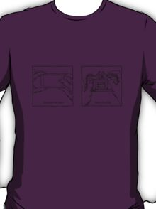 Likes Shooting (black ink for light background) T-Shirt