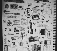 the front bottoms doodles by aslowdumbfox