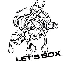 Lets Box! Subaru Boxer Engine by fadouli