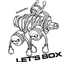 Lets Box! Subaru Boxer Engine by fadouli