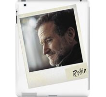 Robin Williams Photograph iPad Case/Skin