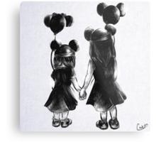 Disney Sisters Metal Print