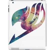 Galaxy Fairy tail logo iPad Case/Skin