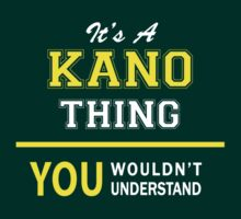 It's A KANO thing, you wouldn't understand !! by satro
