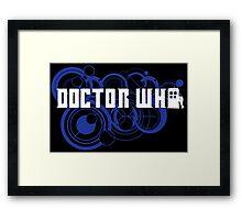 Doctor Who Gallifreyan Framed Print