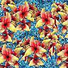 Silk Flower Duvet by GolemAura