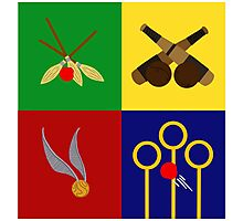 Quidditch Positions Photographic Print