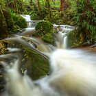 Gads Creek cascades by Kevin McGennan
