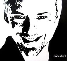The Master/John Simm by Clare Shailes