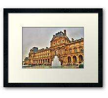 I Love The Louvre Framed Print