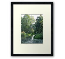 Traditional Beautiful English Countryside Framed Print