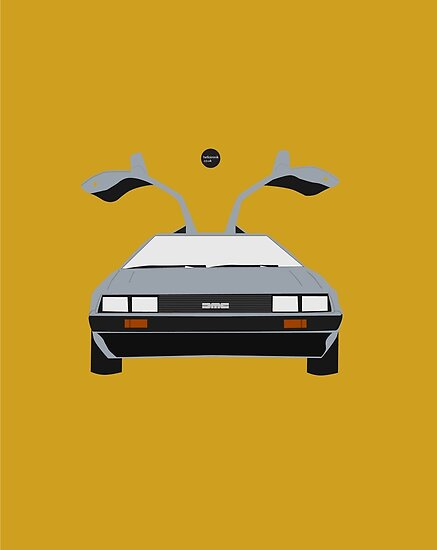 Back To The Future 'Roads' - Yellow by Hello I'm Nik