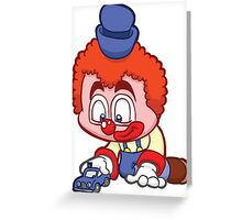 HeinyR- Clown Car Greeting Card
