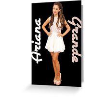 Ariana Grande Greeting Card